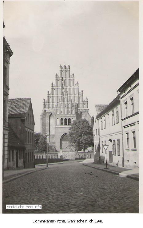 Evangelische Kirche Kulm an der Weichsel - Chelmno im Jahr 1940