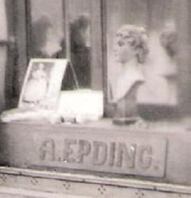 Friseursalon Epding 1943