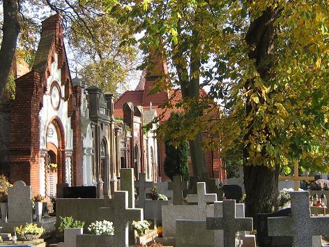 Katholischer Friedhof in Culm an der Weichsel / Chełmno nad Wisłą