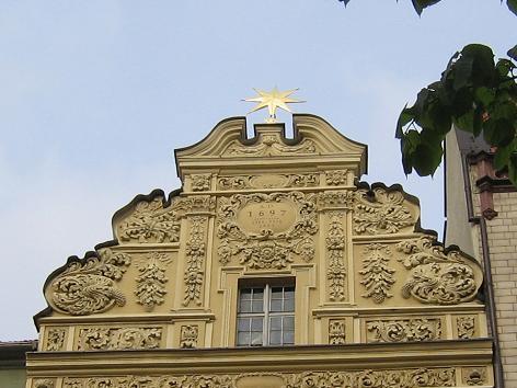 Bürgerhaus Zum Stern am Altstädter Markt in Thorn (Toruń)